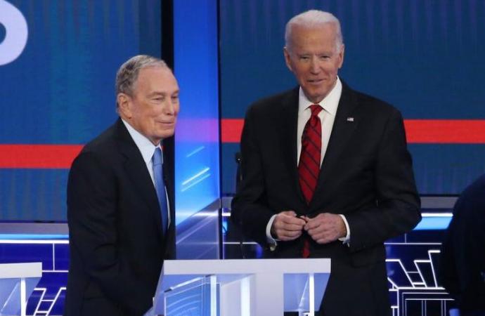 Bloomberg'den Biden'ın kampanyasına 100 milyon dolar destek