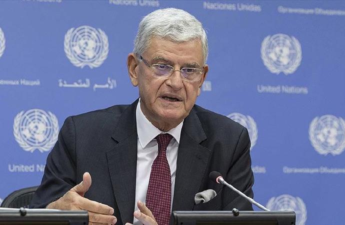"""Volkan Bozkır """"BM 75. Genel Kurul Başkanı"""" olarak göreve başladı"""