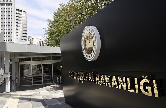 Dışişleri Bakanlığı: Birleşmiş Milletler Komiserliğinin eleştirilerini reddediyoruz