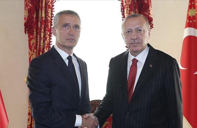 Erdoğan – Stoltenberg arasında telefon görüşmesi