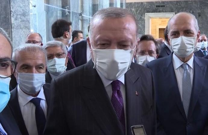 Erdoğan'dan 'Işıklar yanıyor' yorumu: Talihsiz açıklama, keşke yapmamış olsaydı