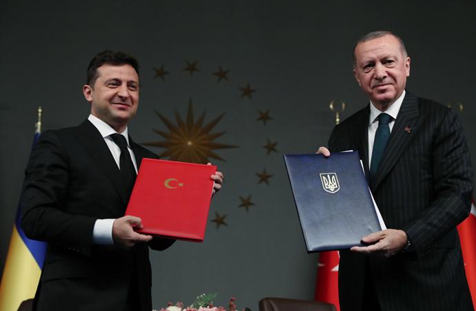 Erdoğan-Zelenskiy görüşmesine ilişkin ortak bildiri
