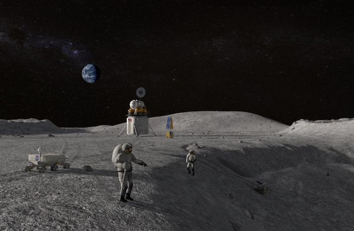 NASA ve Nokia, Ay'a 4G şebekesi kuracak