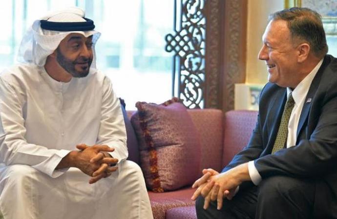 Muhammed bin Zayed, Pompeo'yu kabul etti