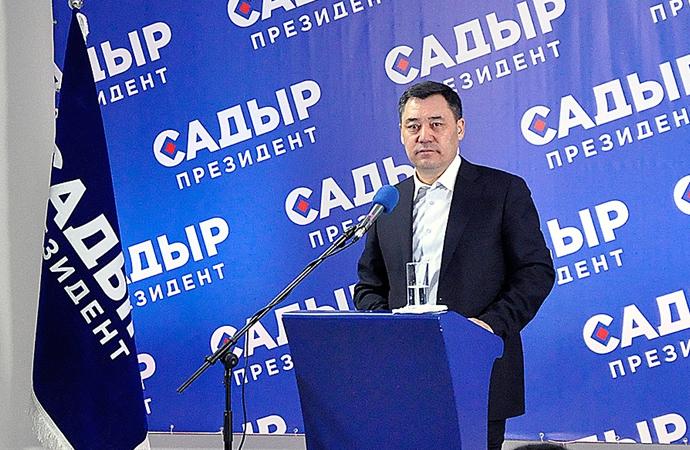 Kırgızistan'da devlet başkanlığı seçimini 'Sadır Caparov' kazandı