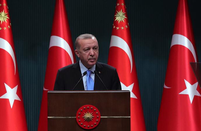 Erdoğan'dan aşı açıklaması