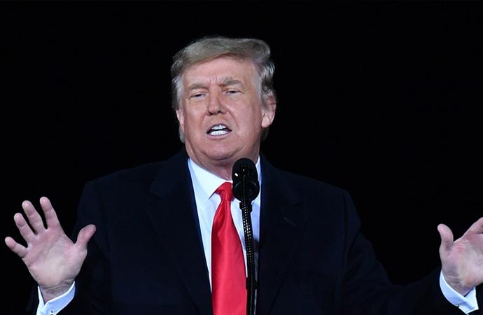Trump: Ben şiddet istemiyorum, hiç istemedim