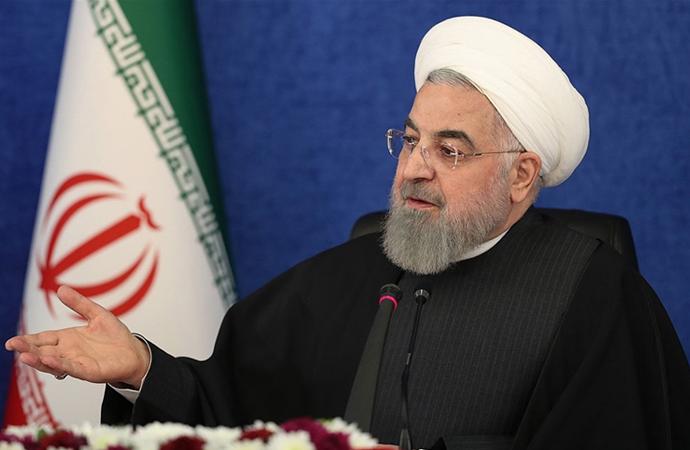 Ruhani'den Trump'a 'Tarihi terörist' nitelemesi