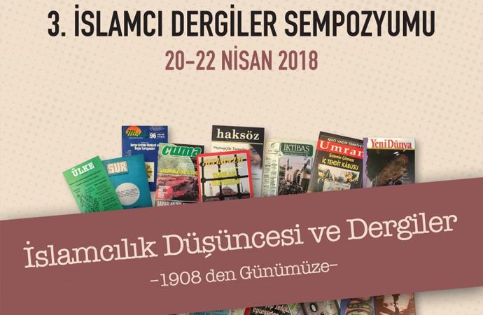 3. İslamcı Dergiler Sempozyumu