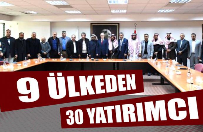 Balıkesir, 9 müslüman ülkeden 30 yatırımcıyı ağırladı