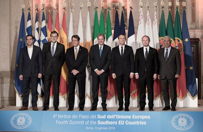 """MED7 ülkelerinin ortak bildirgesine """"Rum pozisyonunu yansıtıyor"""" tepkisi"""