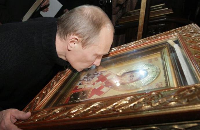 Seçimlere hazırlanan Putin, Komünizmi Hristiyanlığa, Lenin'i azizlere benzetti