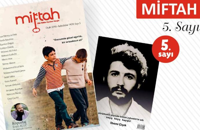 Miftah Dergisinin yeni sayısı çıktı!