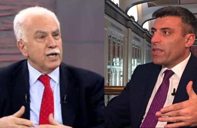 Perinçek ve CHP'li Öztürk canlı yayında birbirine girdi…