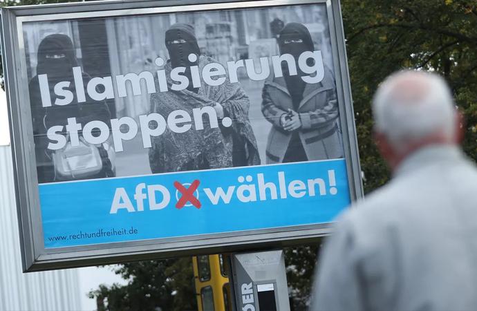 Almanya'da İslam düşmanlığı ile öne çıkan AfD partisinin bir yöneticisi Müslüman oldu