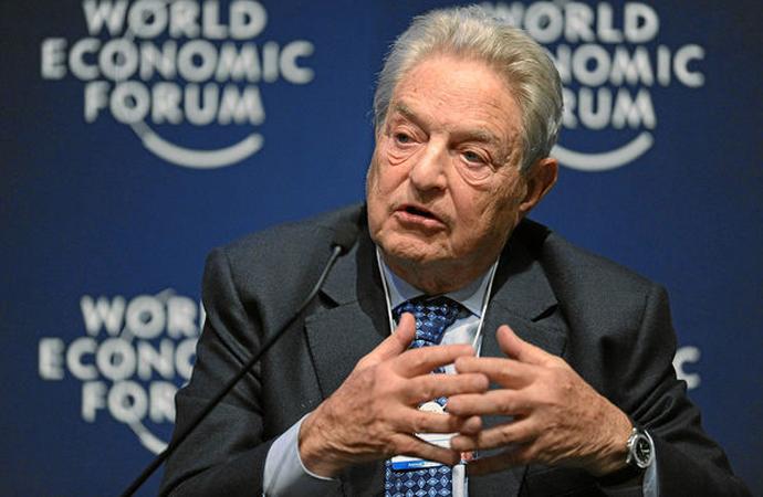 """Soros Davos'ta konuştu, Bitcoin için 'Bildik balon', Google ve Facebook için """"Günleri sayılı"""" dedi"""