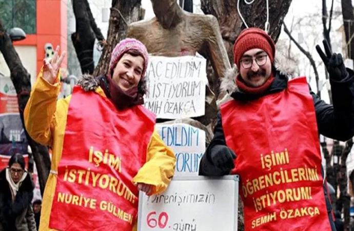 Nuriye Gülmen ve Semih Özakça 324 gün süren açlık grevini sonlandırdı