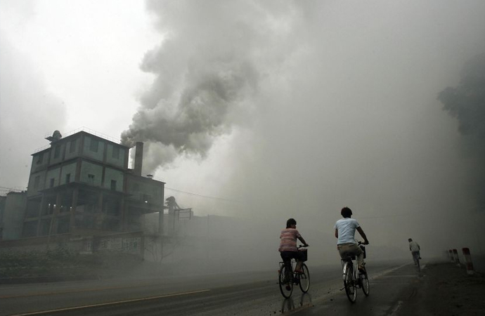 Çin, başkent Pekin'deki hava kirliliğiyle mücadele için 3 milyar dolar ayırdı