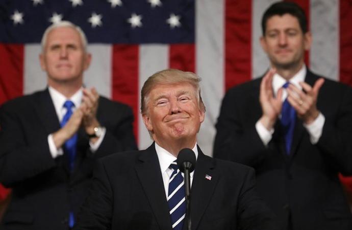Trump ulusa seslendi: Silahlarımızı modernize etmeliyiz