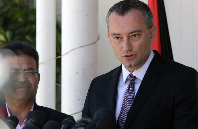 BM Ortadoğu Özel Koordinatörü Nikolay Mladenov Tel Aviv'de konuştu