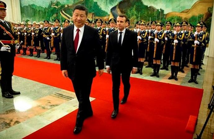 Macron: 'Fransa ve Çin oyunun kurallarını birlikte belirleyecek'