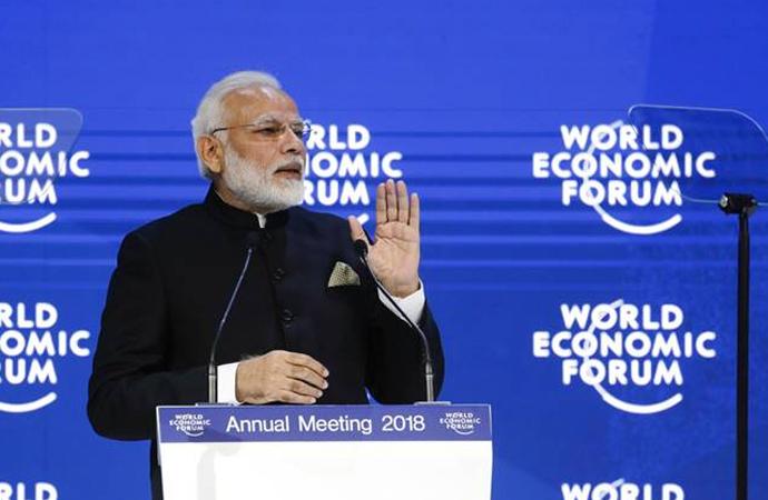Hindistan Başbakanı Modi: 'Korumacı güçler küreselleşmeye başkaldırıyor'