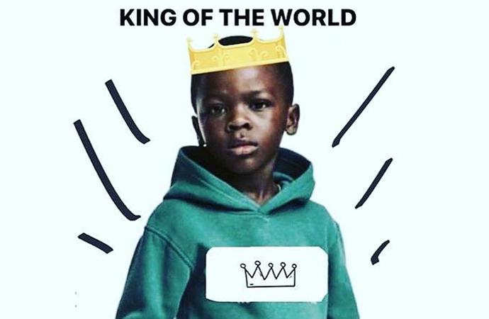 """""""Ben orada küçük bir kral görüyorum"""""""