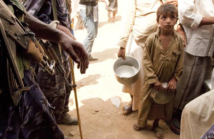 Yemen'deki asıl ölüm sebebi açlık ve salgın hastalık