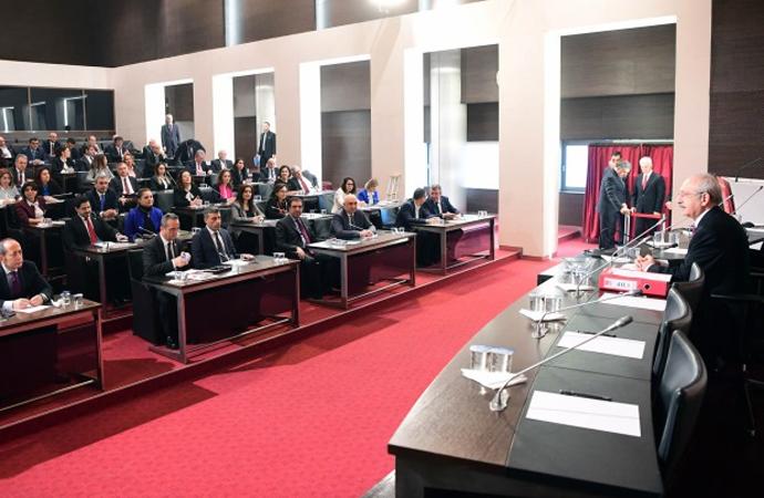 CHP Parti Meclisi Bildirisinde 13 hedef belirlendi
