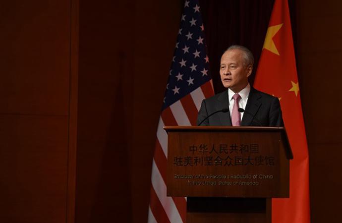 Çin Büyükelçisi: Çin-ABD ilişkileri kritik bir noktada