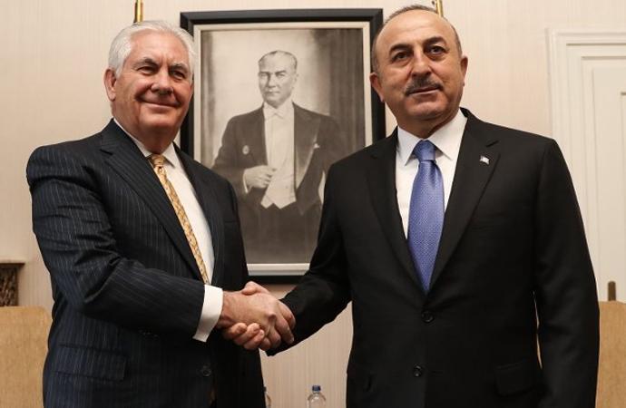 Tillerson: Suriye hedefimiz örtüşüyor, Çavuşoğlu: İlişkiler normalleşecek