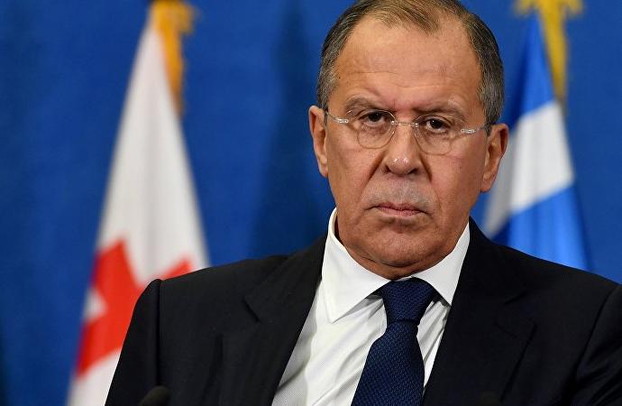 'ABD çok tehlikeli bir oyun oynuyor' diyen Rus Dışişleri Bakanı soruları yanıtladı