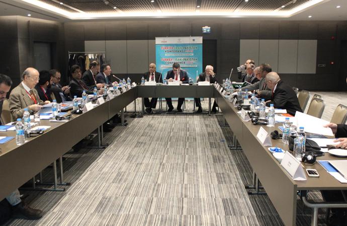 Türkiye – İran – Pakistan İşbirliği Konferansı İstanbul'da Yapıldı