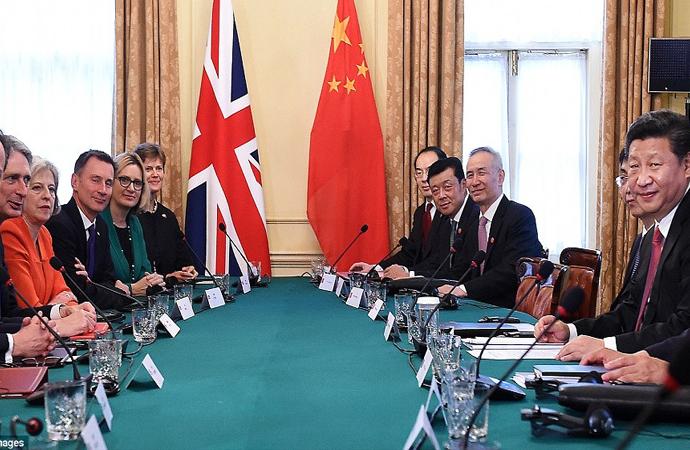 İngiltere Başbakanı: Küresel İngiltere ve Küresel Çin'i inşa edelim