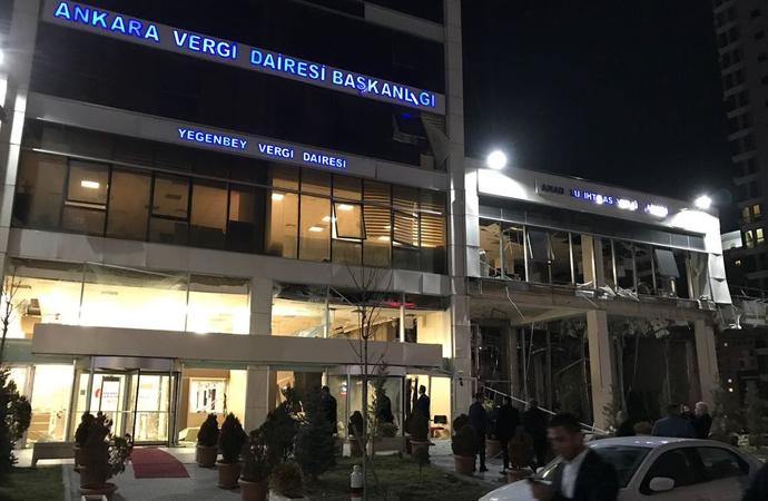 Ankara'da patlayanın doğalgaz değil bomba olduğu bildirildi