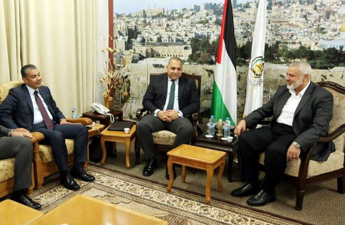 Hamas ve Mısır heyetinin uzlaşı için görüşmeleri devam ediyor 