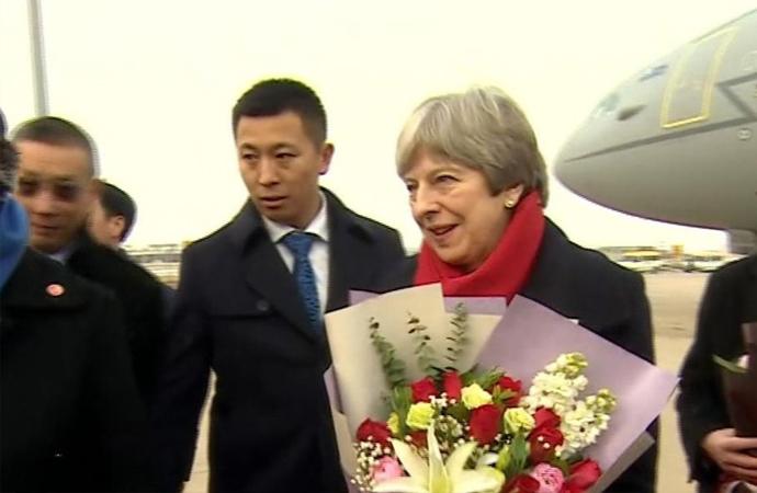 AB'den ayrılan İngilizler, Çin'le ticari anlaşma peşinde