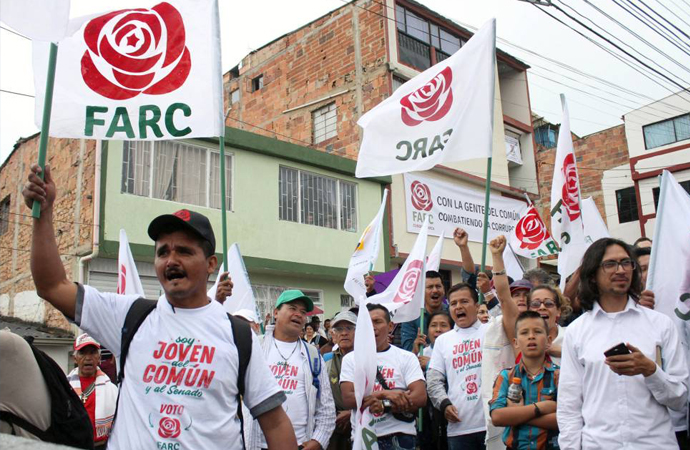 Silah bırakan FARC ilk kez seçimlere girdi: Yüzde 0,3 oy aldı