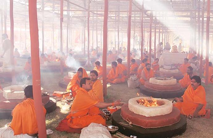 Hindu Rahipler, Mango ağaçlarını kurban ettiler