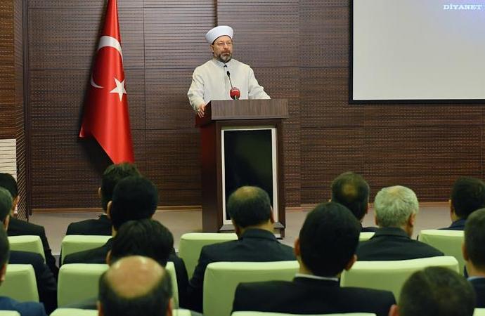 """Ali Erbaş: """"Tüm dünya bizden hizmet bekliyor"""""""