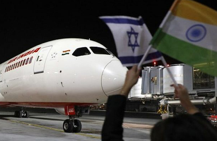 Arabistan hava sahasını açtı, İsrail-Hindistan yakınlaştı
