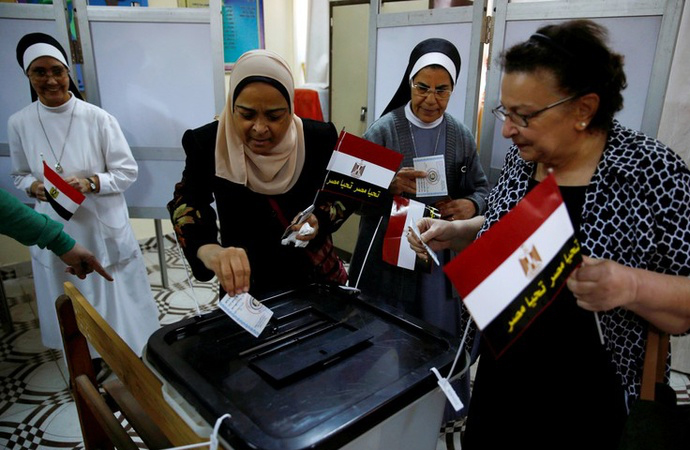 Mısır'da 3 gün seçim var