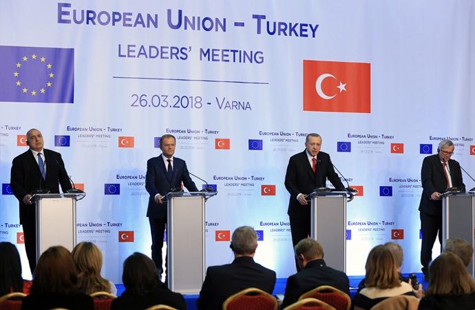 Erdoğan: 'Müreffeh Avrupa'yı birlikte inşa edelim'