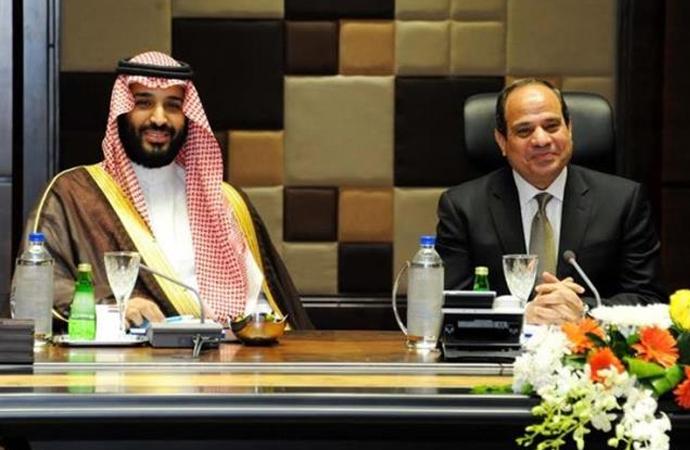 Muhammed bin Selman ile Sisi arasında anlaşmalar imzalandı