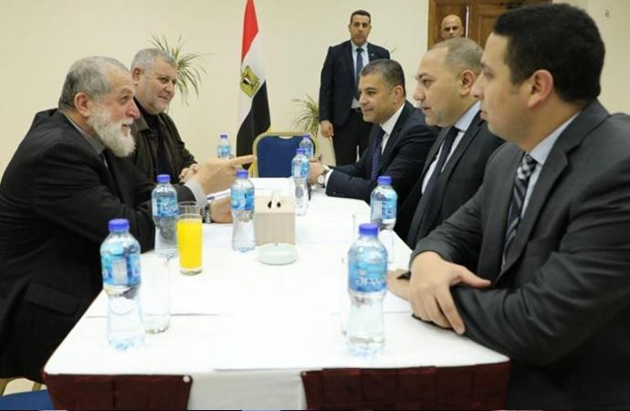 Mısır Güvenlik Heyeti Gazze'de İslami Cihad liderleri ile görüştü