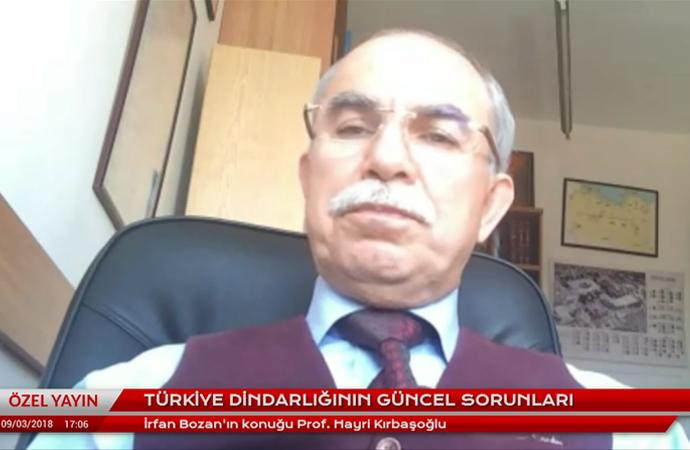 Kırbaşoğlu: Diyanet, siyasetin müdahalesinin dışına çıkarılmalı