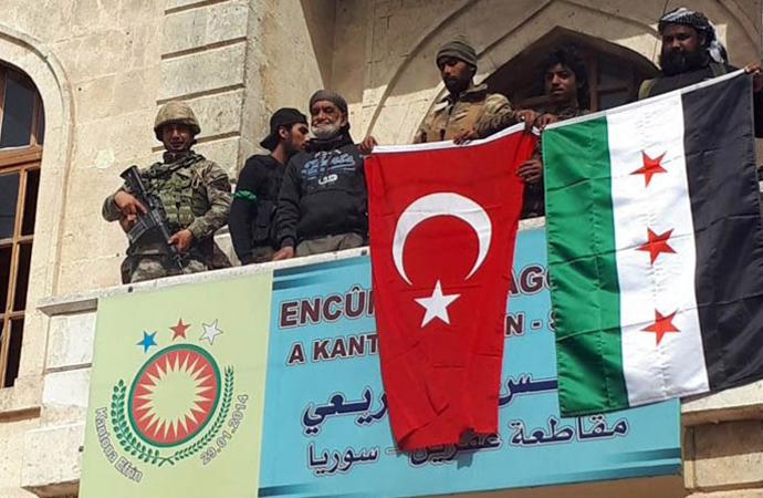 Afrin'i kontrol altına alan TSK'dan yeni açıklama