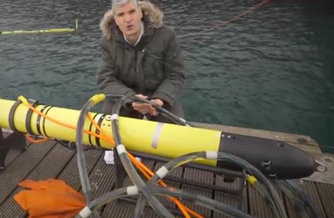 Sualtında Petrol ve Doğalgaz araması yapacak robot test ediliyor