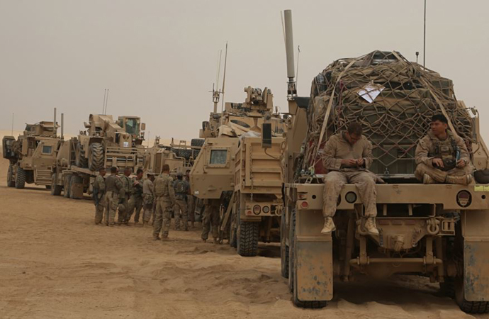 Amerika yakında askerlerini Suriye'den çekiyor, yığdığı silahların ise geleceği meçhul!