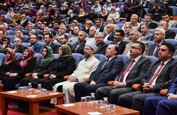 Diyanet İşleri Başkanı Erbaş 'din görevlileri'yle buluştu